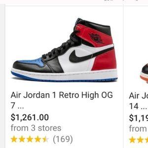 Air Jordan 1 Retro High OG❤️